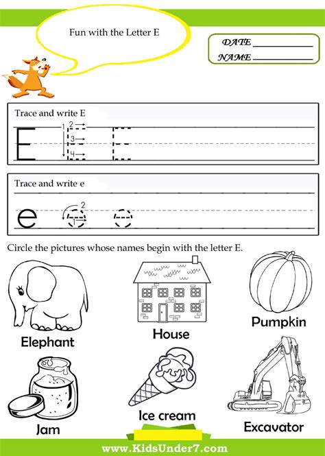 letter e tracing worksheets preschool tracing and