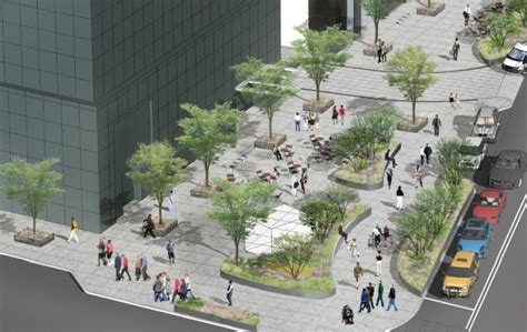 urban layout landscape features and pedestrian usage pedestrian street design www pixshark com images
