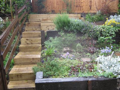 Steep Sloped Backyard Ideas by 17 Best Images About Landscaping Backyard Ideas On