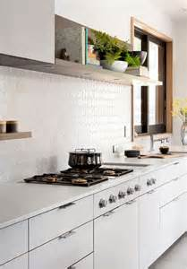 Kitchen Backsplash Alternatives Alternatives To White Subway Tile Centsational