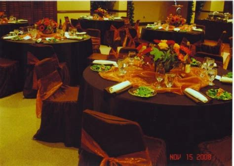fall themed decorations photo gallery fall themed reception photo