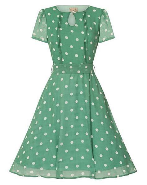 Simply Polka Dress lindy bop bretta polka tea dress simply be