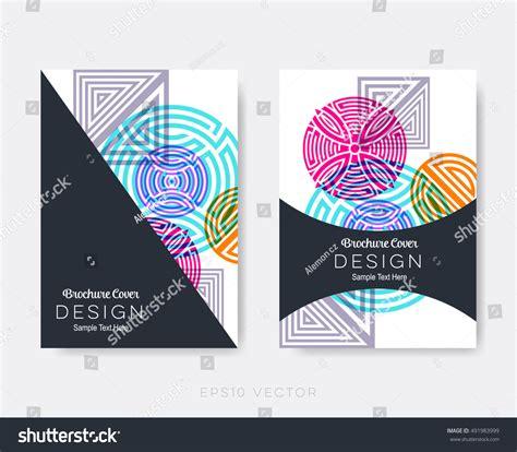 creative flyer design vector creative modern brochure design templates oriental stock