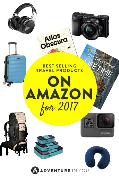 amazon travel items best travel products on amazon for 2017