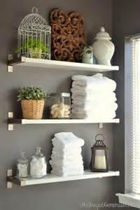 17 diy space saving bathroom shelves and storage ideas shelterness