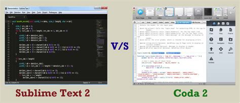 sublime text 2 win mac linux what should you choose between sublime text 2 and coda 2