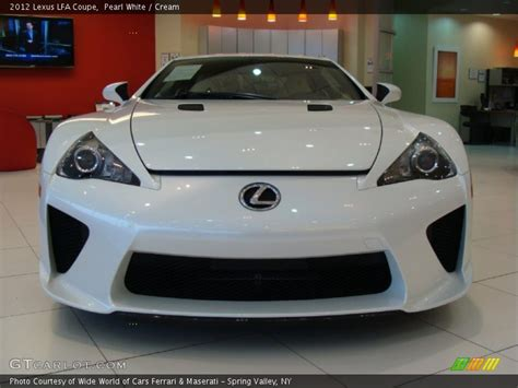 lexus coupe white 2012 lfa coupe pearl white photo no 60723754 gtcarlot com
