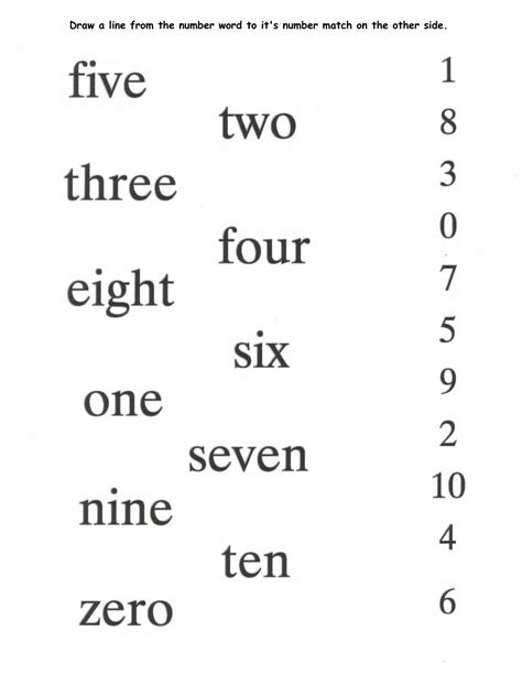printable numbers in words printable number words worksheets activity shelter