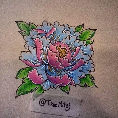 japanese peony tattoo designs japanese peony flower designs search