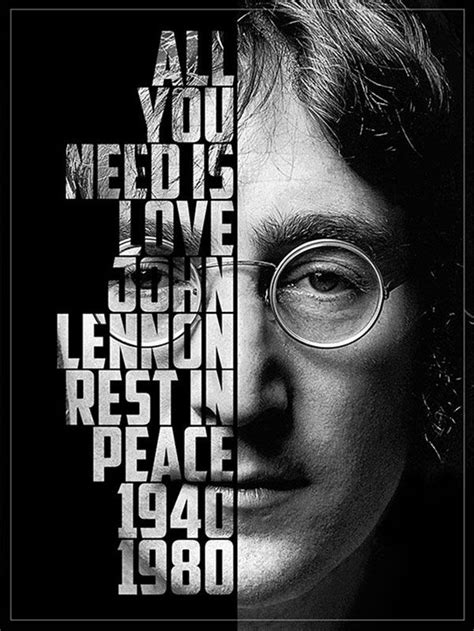 photoshop tutorial john lennon create a cool text portrait in photoshop typography