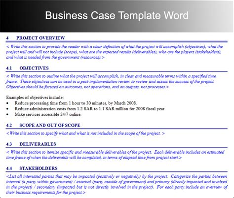 Business Study Template by Business Template Free Word Pdf Documents