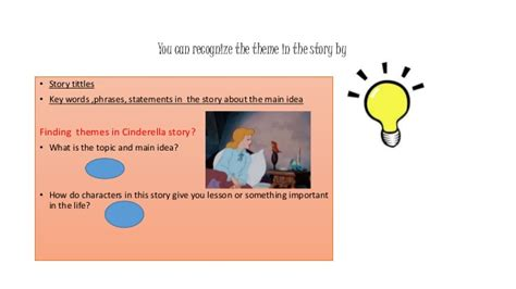 themes cinderella story the elements in children story