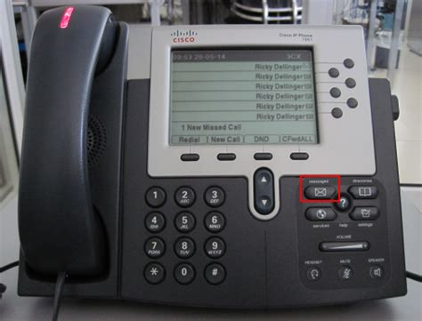 reset voicemail password cisco ip phone check your voicemail using cisco 7940 7941 7960 7961