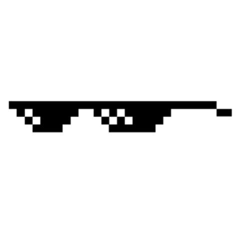 Meme Shades - thug life cool glasses transparent png stickpng