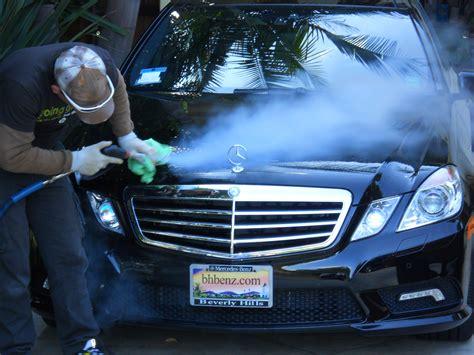 mobile car wash with the optima steamer steamericas com