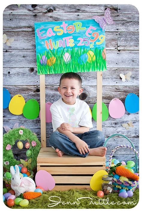 themes for photo session easter mini session props children calendar photo ideas