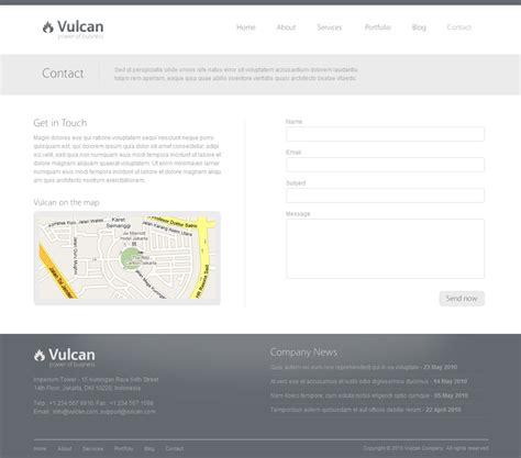 themeforest contact themeforest vulcan minimalist business wordpress theme 4 v2 2