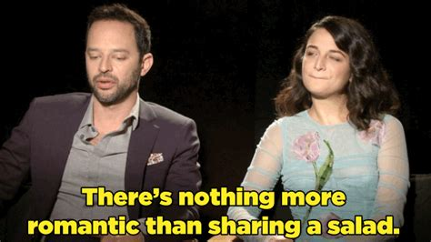 nick kroll cesar nick kroll and jenny slate gave us tips on how to nail a