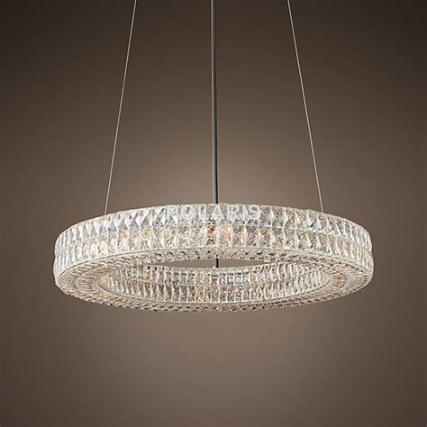 Modern Circular Chandelier Modern Vintage Luxury K9 Chandelier Lighting