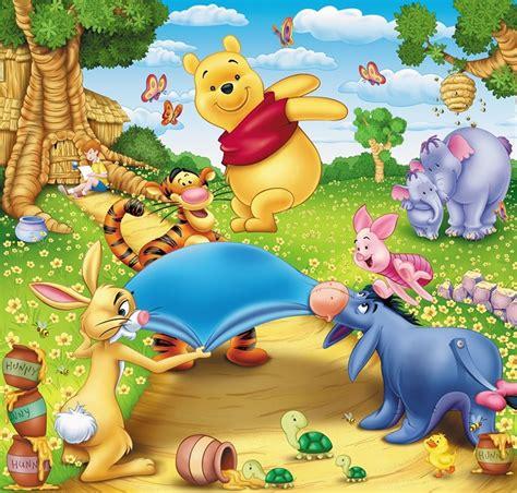 bild kinderzimmer tiger kinder fototapete 210x200 winnie pooh poster wandbild
