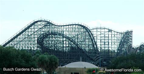 Busch Gardens Gwazi busch gardens roller coasters