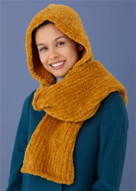 Knitting Pattern For Hooded Snood