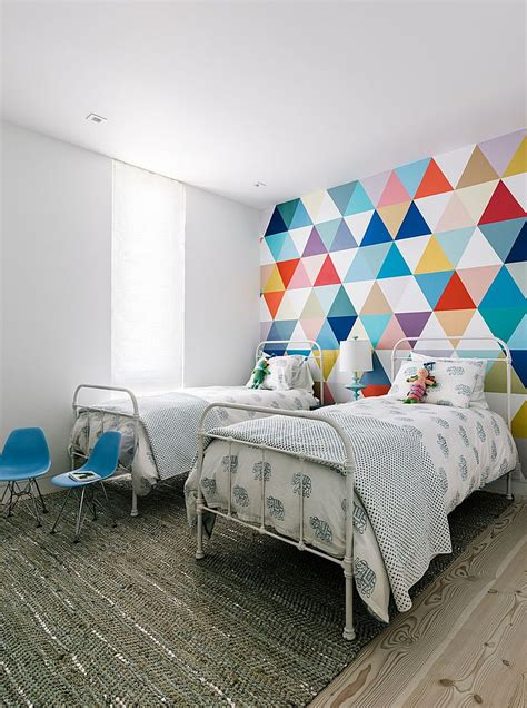 Great Room Ideas 21 creative accent wall ideas for trendy kids bedrooms