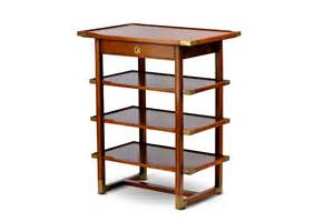 Side Table With Shelves by Side Table With Four Shelves Mecox Gardens