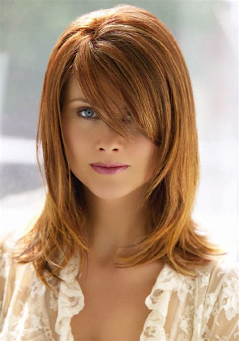hair length to elongate the face hairstyles for medium and round face google search