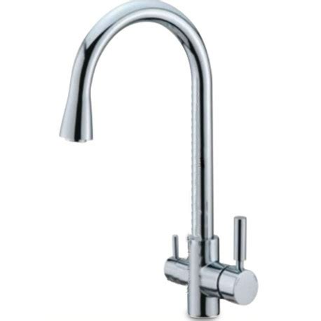 three kitchen faucets 3 way kitchen faucet chrome 3 8 1 4