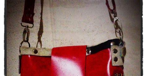 Tas Vogue K 27 a jajomi bag tote bag rood leer en koeienhuid