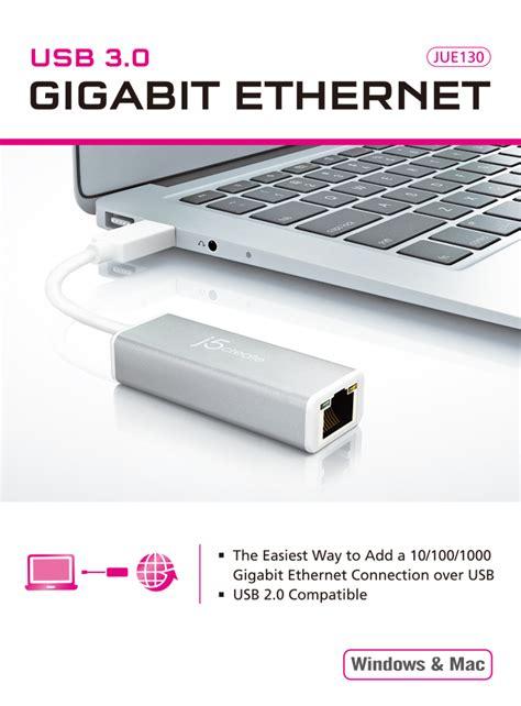 J5create Jue130 Usb 30 Gigabit Ethernet Adapter3 buy the j5create usb 3 0 gigabit ethernet adapter for