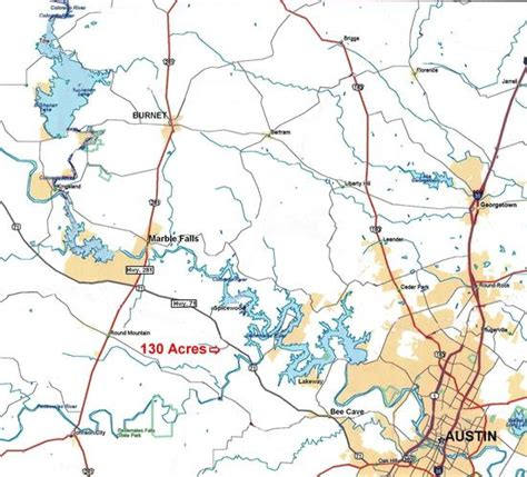 spicewood texas map sold land near 130 acres in blanco county at fall creek rd 78669 spicewood texas