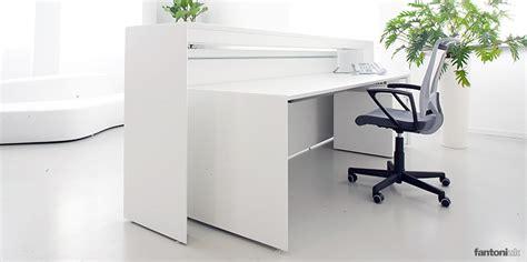 Reception Desk Vancouver White Reception Resks Meta Desk Fantoni Uk