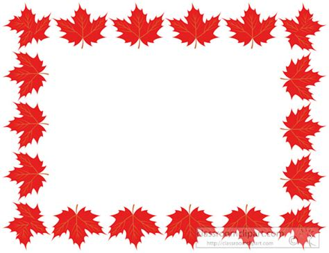 Mba Without Borders Canada by Clipart Leaf Border Theleaf Co