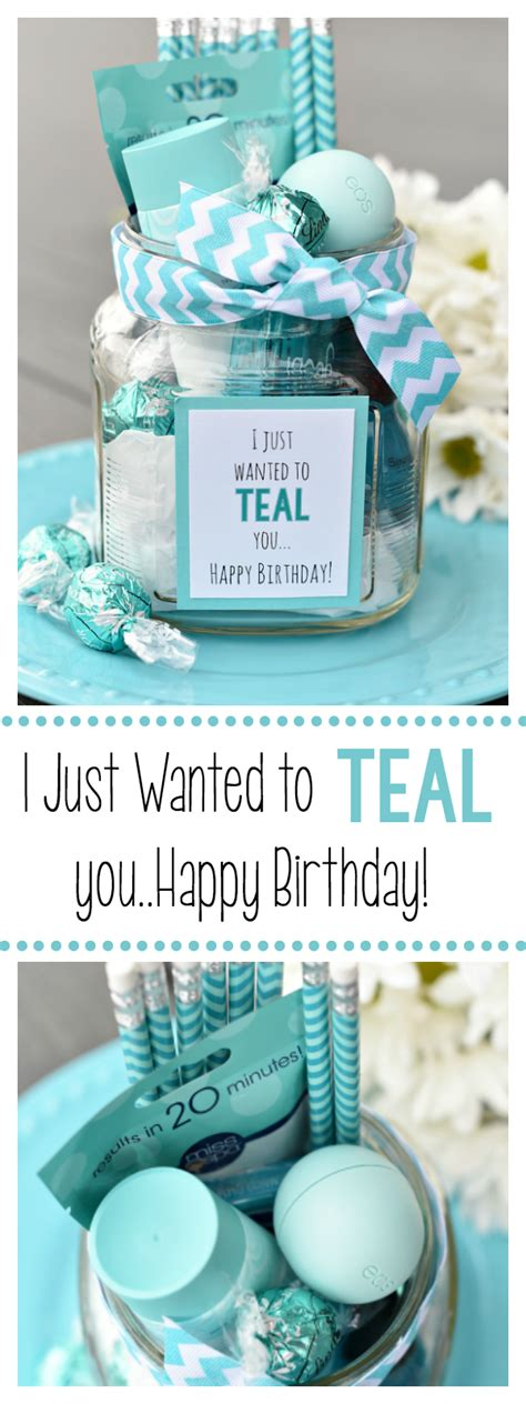 Birthday Gifts For by Teal Birthday Gift Idea For Friends Squared