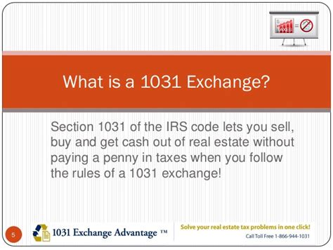 Saving Investment Taxes With 1031 Exchanges