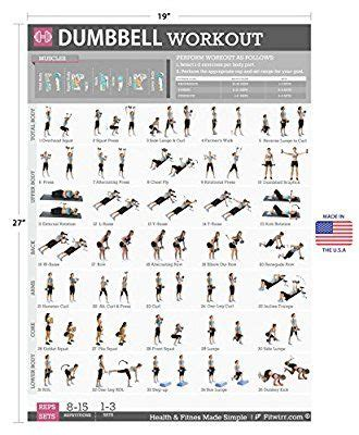best dumbbell workout routine 17 best ideas about weight lifting routines on
