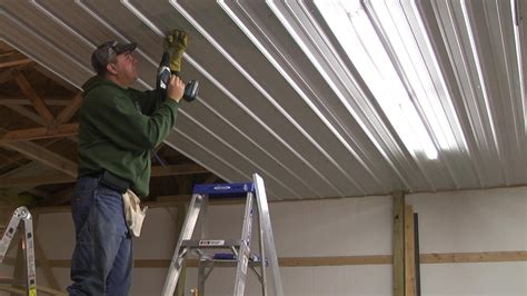 Metal Frame Ceiling Installations by How To Frame A Pole Barn Ceiling For Drywall Studio