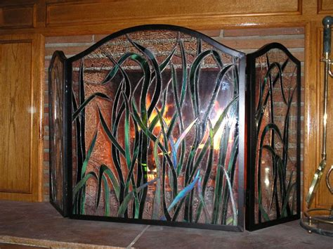 17 best images about stained glass firescreens on