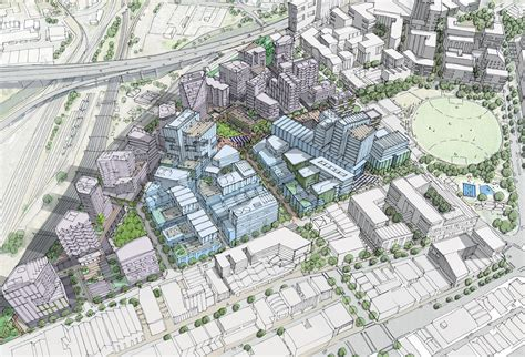 final vision  major  melbourne urban renewal precinct released architectureau