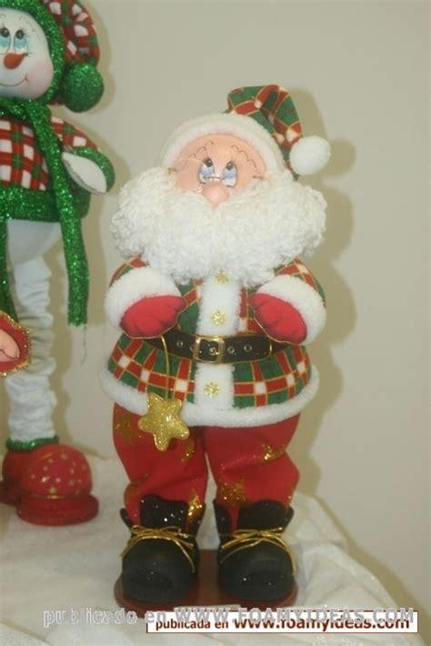 imagenes navideñas santa fotos de manualidades foamy cara de pap 225 noel fofucho