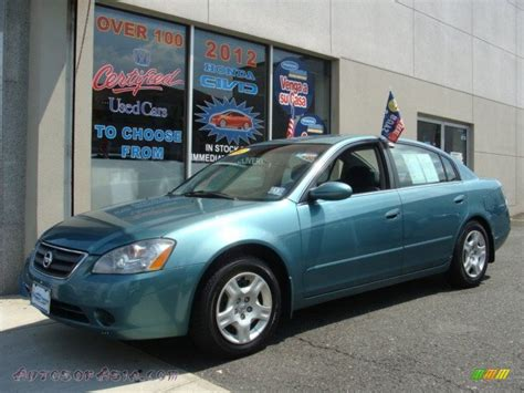 light blue nissan 2002 nissan altima 2 5 s in seascape light blue 155256