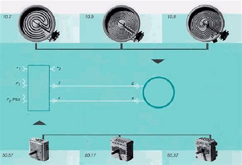 kochfeld ausbauen gaskeramik feld schaltungen
