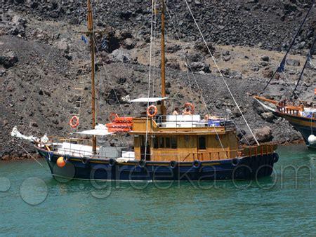 lade vulcano volcano and springs boat tour in santorini greeka