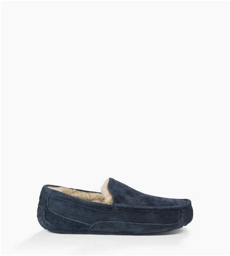 ugg mens slipper sale pink ugg ugg 174 mens ascot slippers new navy new navy uk