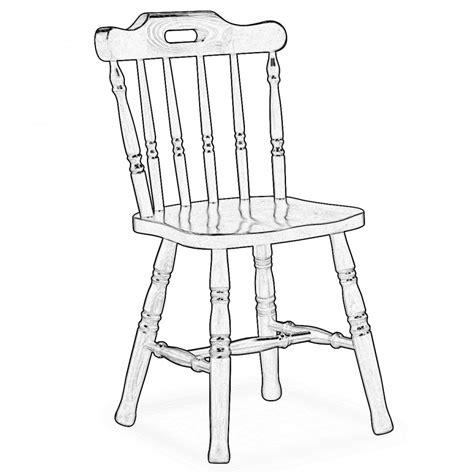 sedie grezze legno sedia america in legno grezzo monviso legno grezzo