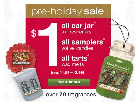 yankee candle printable coupons canada yankee candle 1 car jars votive candles wax tarts