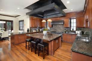 granite islands kitchen 57 luxury kitchen island designs pictures designing idea
