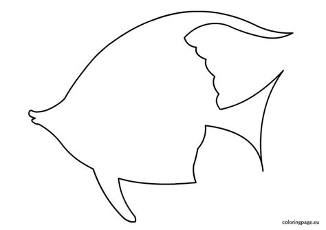 template of a fish tropical fish template applique fish template tropical fish and template